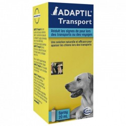 Spray Chien ADAPTIL TRANSPORT-VOYAGE Flacon 20 ml