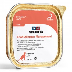 Pâtée FDW FOOD ALLERGEN MANAGEMENT Chat 7x100g - Specific
