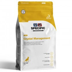 Croquettes FCD-L CRYSTAL MANAGEMENT LIGHT Chat Sac 2 kg - Specific