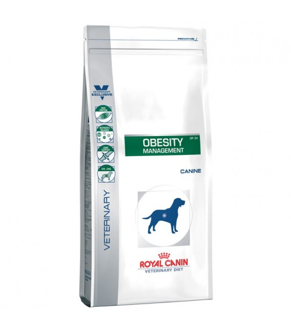 Croquettes OBESITY MANAGEMENT Chien Sac 1.5 kg - Veterinary Diet