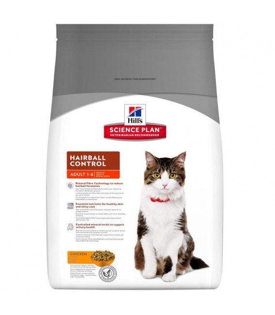 Science Plan Chat ADULT HAIRBALL CONTROL Sac 5 kg