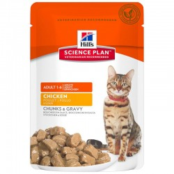 Pâtée ADULT POULET Chat 12x85g - Science Plan