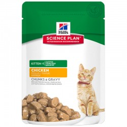 Science Plan Chaton KITTEN POULET 12 Sachets 85 g