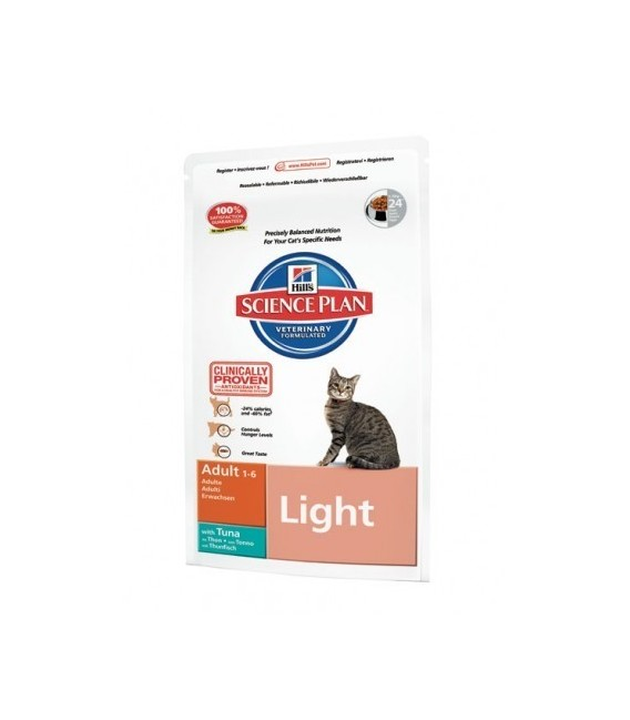 Science Plan Chat ADULT LIGHT THON Sac 5 kg