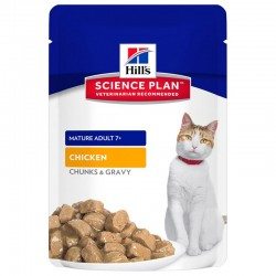Pâtée MATURE ADULT 7+ POULET Chat 12x85g - Science Plan