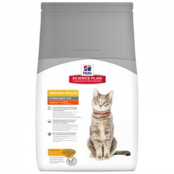 Croquettes STERILISED URINARY ADULT POULET Sac 8 kg Chat - HILL'S Science Plan