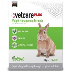 Aliment WEIGHT MANAGEMENT 1 kg Lapin - VetCarePlus