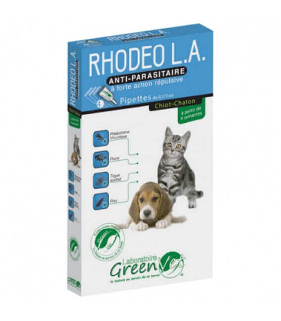 Solution RHODEO L.A. Chaton et Chiot 4 pip.