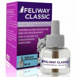 Pack 3 Recharges FELIWAY CLASSIC 48 ml Chat - CEVA