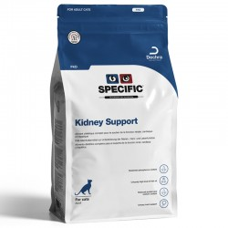 Croquettes FKD KIDNEY SUPPORT Sacs 4 X 400 g Chat - DECHRA Specific