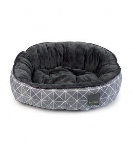 Coussin MID TOWN REVERSIBLE T.2 Chien