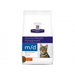 Croquettes M/D DIABETES/WEIGHT MANAGEMENT POULET Chat Sac 5 kg - Prescription Diet