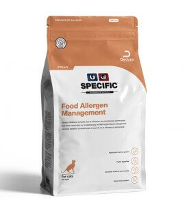 Croquettes FDD-HY FOOD ALLERGY Sac 400 g Chat - Specific