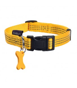 Collier SAFE JAUNE T.S Chien