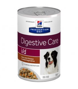 Pâtée I/D DIGESTIVE CARE MIJOTES POULET & LEGUMES Chien 12x354g - Prescription Diet