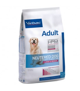 Croquettes ADULT NEUTERED LARGE & MEDIUM Chien Sac 16 kg - Veterinary HPM