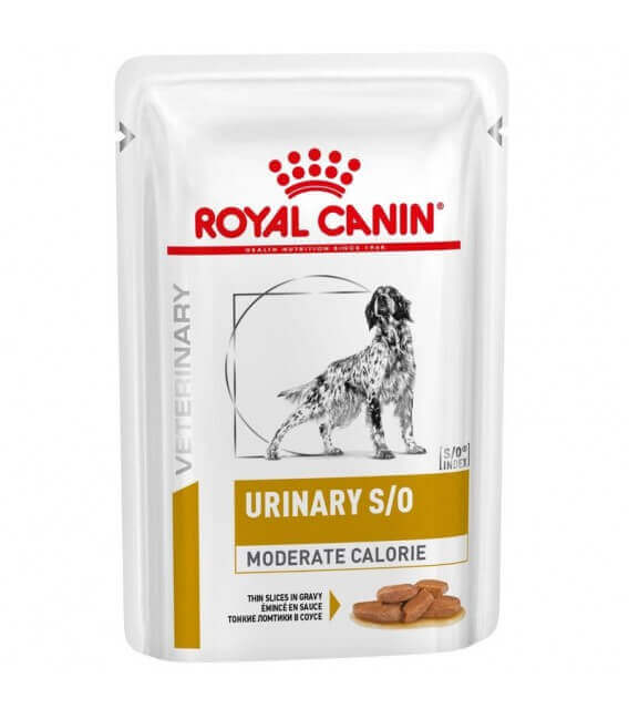 Pâtées URINARY S/O MODERATE CALORIE Chien - Veterinary Diets