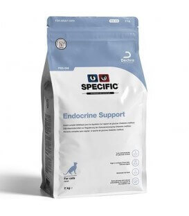 Croquettes FED-DM ENDOCRINE SUPPORT Chat Sac 2 kg - Specific