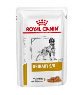 Pâtée URINARY S/O Chien 12x100g - Veterinary Health Nutrition