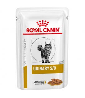 Pâtée URINARY S/O MORCEAU POULET Chat 12x85g - Veterinary Health Nutrition