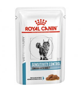 Pâtée SENSITIVITY CONTROL Chat - Veterinary Care Nutrition
