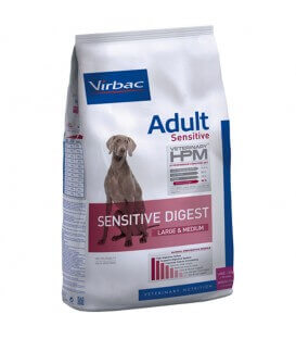 Croquettes SENSITIVE DIGEST ADULT LARGE & MEDIUM Chien Sac 12 kg - Veterinary HPM