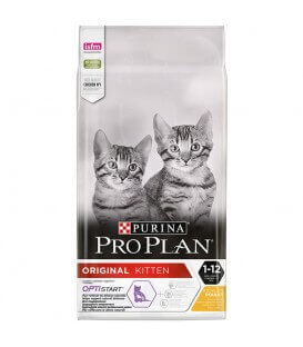 Croquettes ORIGINAL KITTEN OPTISTART POULET Chat Sac 400 g - Proplan