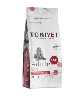 Croquettes ADULT MEDIUM Chien Sac 3 kg – Tonivet