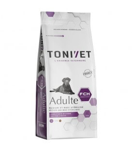 Croquettes ADULT MEDIUM MAXI STERILISE Chien Sac 15 kg - Tonivet