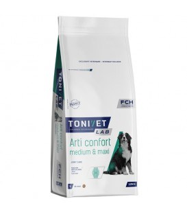 Croquettes ARTI-CONFORT MEDIUM MAXI Chien Sac 12 kg - Tonivet