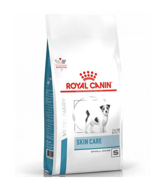 Veterinary Diet Chien SKIN CARE ADULT SMALL Sac 4 kg
