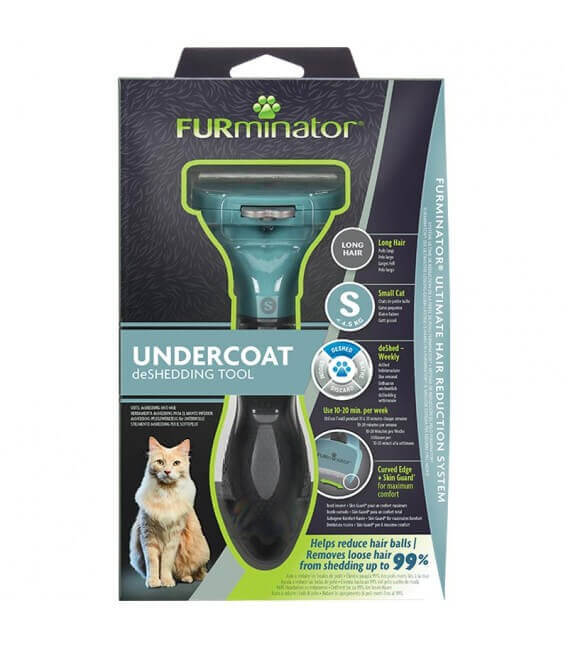 Outil Anti-mue DESHEDDING SMALL POILS LONGS Chat