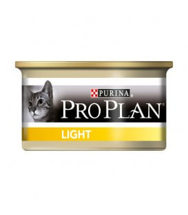 Pâtée ADULT LIGHT DINDE Chat 24x85g - Pro Plan