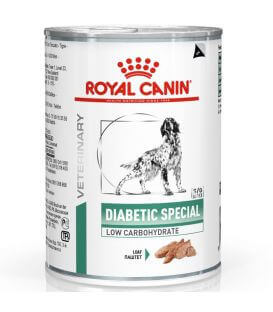 Pâtée DIABETIC SPECIAL Chien 12x410g - Veterinary Health Nutrition