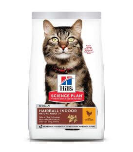 Science Plan Chat MATURE ADULT 7+ HAIRBALL CONTROL Sac 1.5 kg