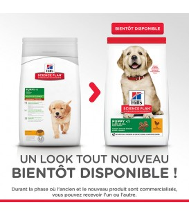 Croquettes PUPPY LARGE POULET Chiot Sac 16 kg - Science Plan