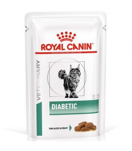 Pâtée DIABETIC Chat 12x85g - Veterinary Health Nutrition