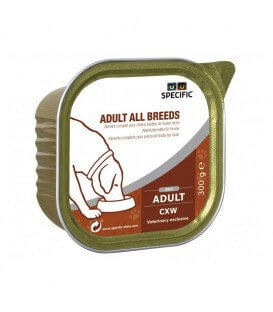 Pâtée CXW ADULT ALL BREEDS Chien 6x300g - Specific