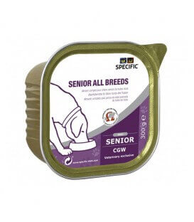 Pâtée CGW SENIOR ALL BREEDS Chien 6x300g - Specific