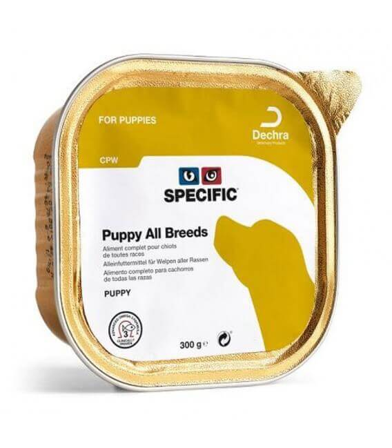 Pâtée CPW PUPPY ALL BREED Chien 6x300g - Specific