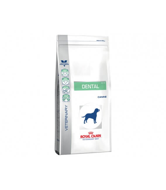Croquettes DENTAL Chien Sac 14 kg - Veterinary Diet