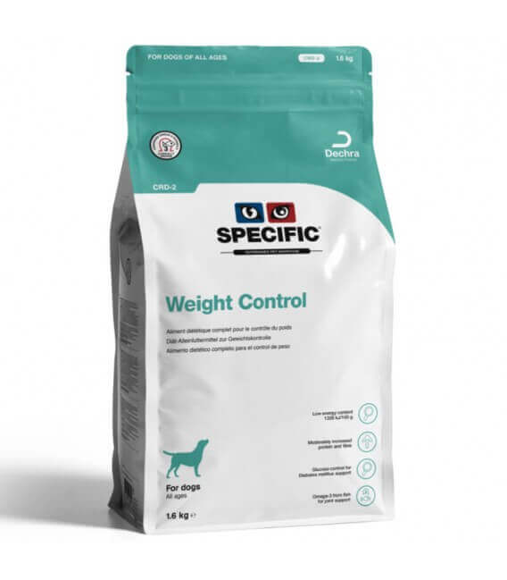 Croquettes CRD-2 WEIGHT CONTROL Chien Sac 1.6 kg - Specific