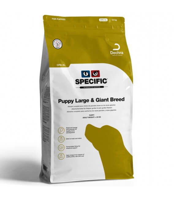 Croquettes CPD-XL PUPPY LARGE & GIANT Chien Sac 12 kg - Specific
