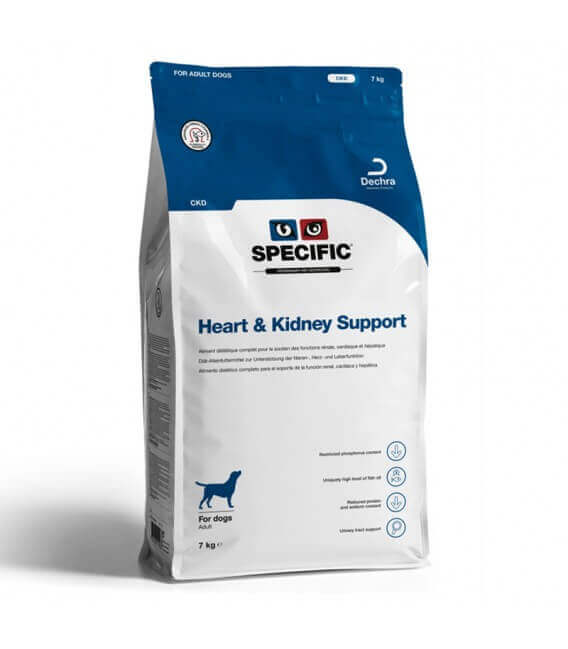 Croquettes CKD HEART & KIDNEY SUPPORT Chien Sac 7 kg - Specific