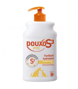 Shampooing S3 PYO Chien et Chat 500ml - Douxo