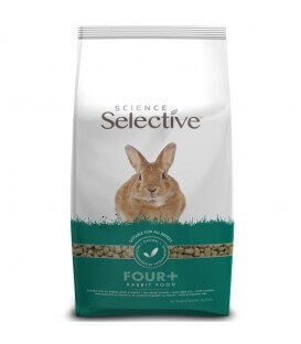 Aliment FOUR + Lapin Sac 3 kg - Selective