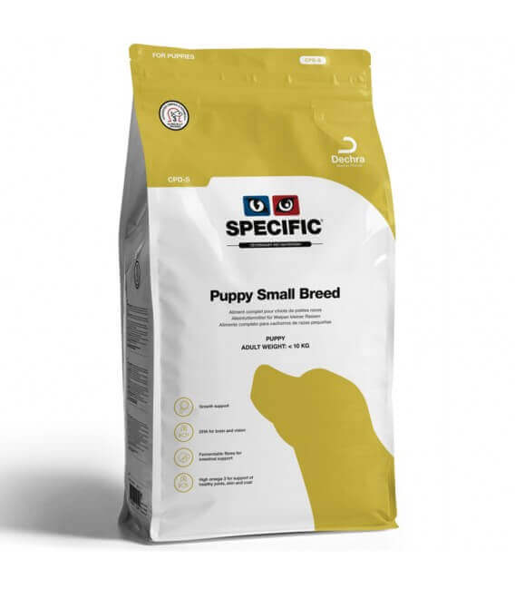 Croquettes CPD-S PUPPY SMALL Chien Sac 4 kg - Specific