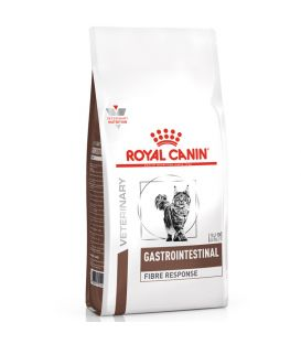 Croquettes GASTRO INTESTINAL FIBRE RESPONSE Chat Sac 4 kg - Veterinary Health Nutrition