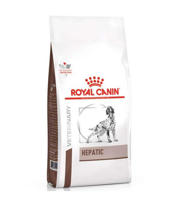 Croquettes HEPATIC Chien Sac 6 kg - Veterinary Health Nutrition