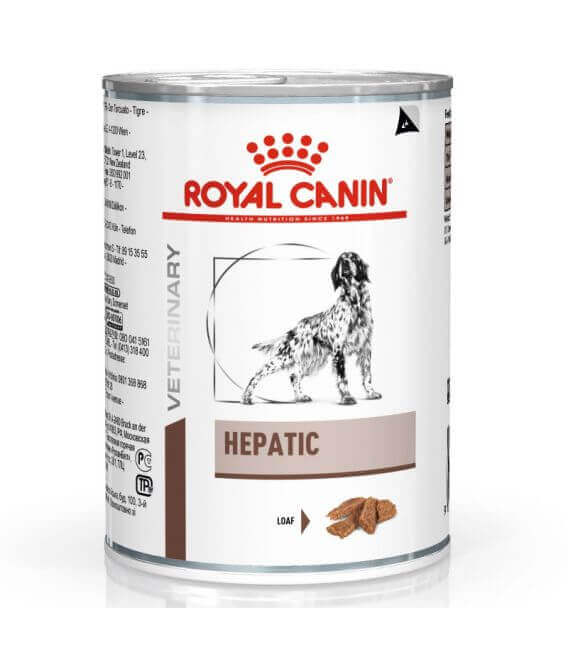 Pâtée HEPATIC Chien 12x420g - Veterinary Diet